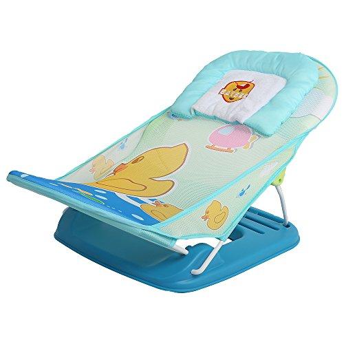 Baybee DaffyDuck Baby Bather - Bath Seat (Blue)