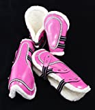 equipride Bling Kristall Gamaschen & Streichkappen Pink Full