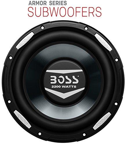 boss audio ar10d armor 10-inch 2200-watt dual voice coil subwoofer BOSS Audio AR10D Armor 10-inch 2200-watt DUAL Voice Coil Subwoofer 51nV7e4A0ZL