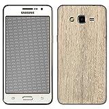 atFolix Samsung Galaxy Grand Prime Skin FX-Wood-Bleached-Oak Designfolie Sticker - Holz-Struktur/Holz-Folie
