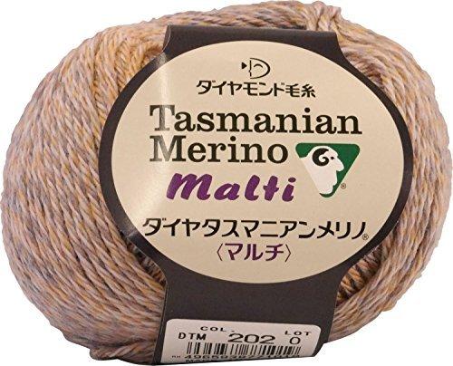 Dia Tasmanian Merino Multi Wolle Garn MEDIUM Col.202 40 g 142 m -