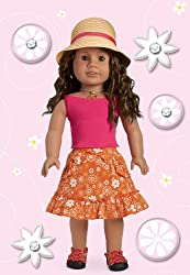 American Girl Crafts Bubble Stickers, Gardening