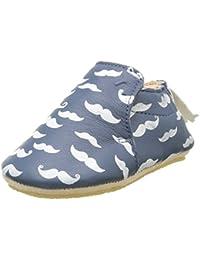 Easy Peasy Blublu Moustach, Chaussures de Naissance bébé garçon