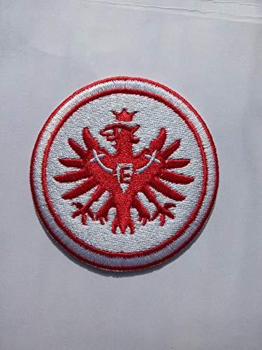 2stk Eintracht Frankfurt Aufnäher Patch Football Fussball Soccer Club Iron on bügelbild aufbügler Badge