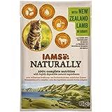 Iams Naturally Lamm, Nassfutter mit Lamm für erwachsene Katzen, Probiergröße, Einzelbeutel (1 x 85 g)