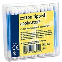 Reliance Medical Cotton Tipped Applicators auricolari per assistenza sanitaria e trattamento