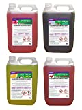 4 x 5 Litres Pet Kennel Disinfectant And Deodoriser Mixed Fragrances 20 LITRES