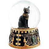 Boule de neige géante figurine chat Bastet