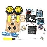 Bluelover Diy L298N 2Wd Ultraschall Smart Tracking Moteur Roboter Auto Kit Für Arduino