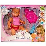 Tachan - Muñeca Mi Bebe Pipi CP Tachan, color rosa (Falca 39007)