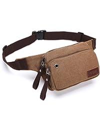 Buyworld B27 2017 Hot Travel Bags Canvas Waist Bag Men Fanny Pack Man Out Door Money Belt Bag Men Waist Pack Pochetes...