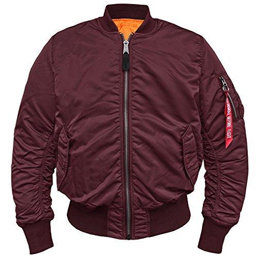 MA1 Fliegerjacke burgundy - XL Alpha-nylon-pullover