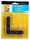 CODIS Escuadra Plana 80X80 5 U.