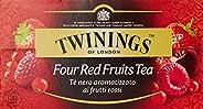 Twinings - Te' Nero Aromatizzato ai Frutti Rossi, 25 Bustine -