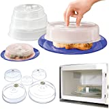 Parte superior Home Solutions® Juego de 5cubreplatos para microondas (cubre
