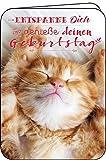 Glückwunschkarte * Entspanne Dich und genieße Deinen Geburtstag