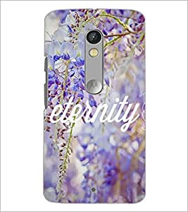 Printdhaba Quote D-3697 Back Case Cover For Motorola Moto X Play