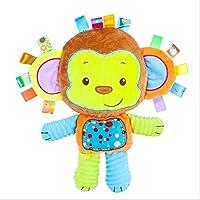 anlala Accompany Your Baby Sleep Comfort Towel Plush Toy Doll Entrance Bite Puppet Sleep Baby Sleep Pacificthesing Dolls - Monkeys