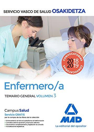 Enfermera/o de Osakidetza-Servicio Vasco de Salud. Temario General Volumen 3