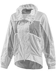 adidas by Stella McCartney Women 's Barricade cálida de Up Jacket Chaqueta de tenis mujer g78468, color Weiß, tamaño extra-small