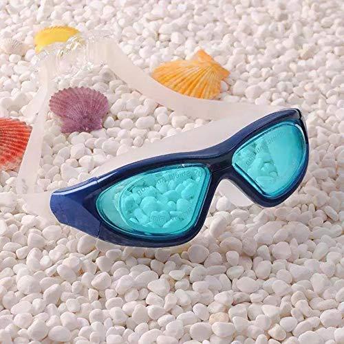 MHP Männer und Frauen der Schwimmen-Schutzbrillen große beiläufige wasserdichte ältere Schwimmenbrillen des beschlagfrei, blau