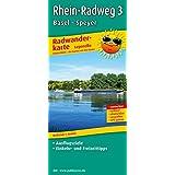Rhein-Radweg 3, Basel - Speyer: Leporello Radtourenkarte mit Ausflugszielen, Einkehr- & Freizeittipps, wetterfest, reißfest, abwischbar, GPS-genau. 1:50000