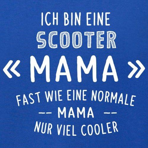 Ich bin eine Scooter Mama - Herren T-Shirt - 13 Farben Royalblau
