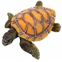 Befaith Stylish Aquarium Ornament Polyresin Turtle Tortoise Fish Tank Decoration 12*10*4cm