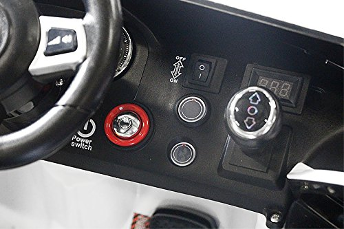 Volkswagen Lizenz Elektro Kinderauto VW GTI GOLF, Farbe:Schwarz