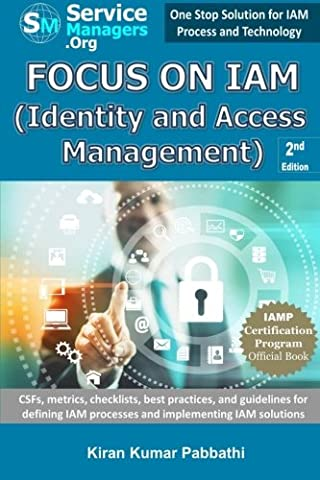 Focus on IAM (Identity and Access Management): CSFs, metrics, checklists, best practices, and guidelines for defining IAM processes and implementing IAM (Access Solutions)