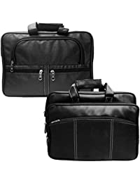Stylcozy Office Bag For Men's/ Gents 17' Inch Synthetic Leather Bags (Pack Of 2) - B077WC1D5M