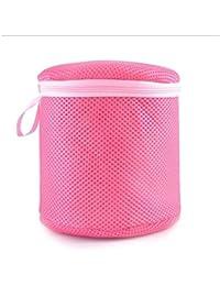 DDGE DMMS Damen Unterwäsche BH Wäschehilfe Wäscheeinsparung Unterwäsche Netz Wäschekorb Tasche Zylinderpulver