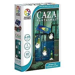 Games-SG433ES Smart Games-La casa de los fantasmas, educativos, juegos ingenio, puzzle, smartgames, color surtido (Lúdilo SG433ES)