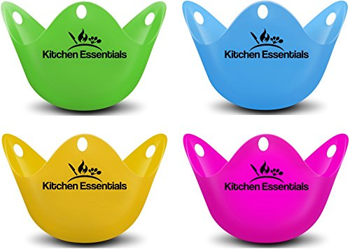 Egg Poacher Cups (4 Pack) for Pe...