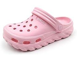 AMOJI Kid Clogs Garden Shoes Slippers Sandals KID1521