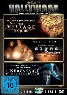 The Village - Das Dorf / Signs - Zeichen / Unbreakable - Unzerbrechlich [3 DVDs]