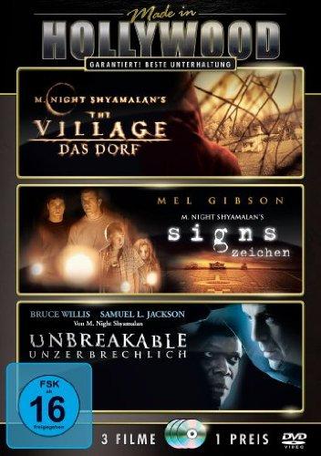 Bild von The Village - Das Dorf / Signs - Zeichen / Unbreakable - Unzerbrechlich [3 DVDs]