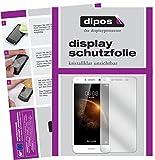 dipos I 2X Schutzfolie klar passend für Huawei Y6 II Compact Folie Bildschirmschutzfolie