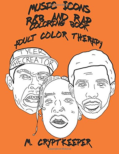 music-icons-rb-and-rap-coloring-book-adult-coloring-book-featuring-asap-rocky-chance-the-rapper-drak