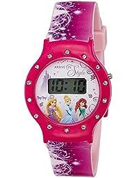 Disney Digital Multi-Colour Dial Girl's Watch - DW100479