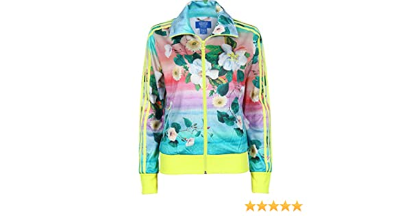 detailed pictures new style to buy adidas Damen Trainingsjacke Firebird Borboflor