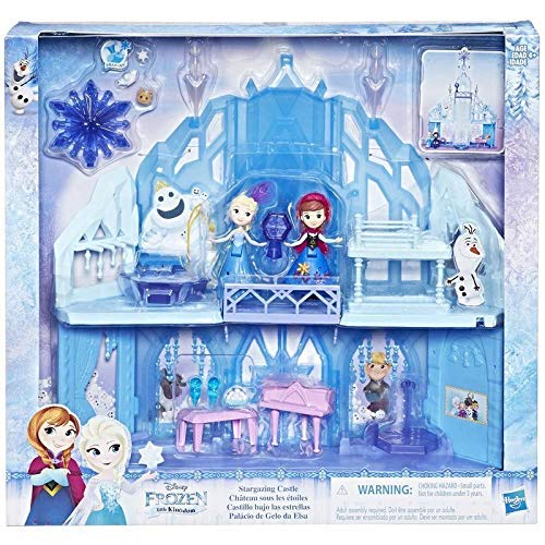 Disney hasbro frozen - e1755 - palazzo del ghiaccio di elsa