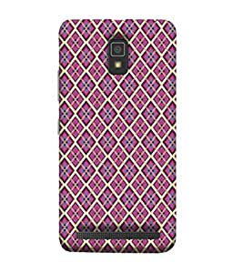 PrintVisa Designer Back Case Cover for Lenovo A6600 (fine sober attractive pattern lovely pink)