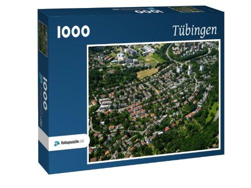 Preisvergleich Produktbild Tübingen - Puzzle 1000 Teile mit Bild von oben