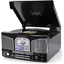 Lauson  - Tocadiscos  cl141 con cd, radio, usb grabador y bluetooth