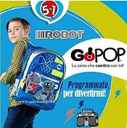 Auguri Preziosi, Kinderrucksack Blau hellblau