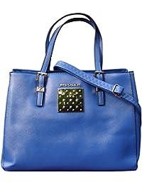 Thierry Mugler - Bolso cruzados para mujer Azul azul U