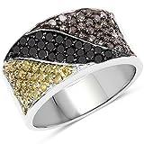 Ring Sterling-Silber 925 1,32 Karat Diamant