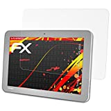 atFolix Schutzfolie kompatibel mit Toshiba Encore 2 Write WT10PE-A264 Bildschirmschutzfolie, HD-Entspiegelung FX Folie (2X)