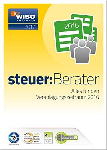 WISO steuer:Berater 2017 (für Steuerjahr 2016)